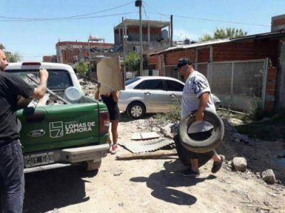Lomas: refuerzan la fumigación en los barrios para prevenir el dengue