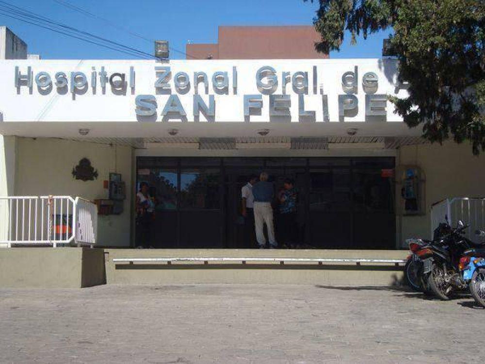 El paro de los médicos afecta la atención en el Hospital San Felipe