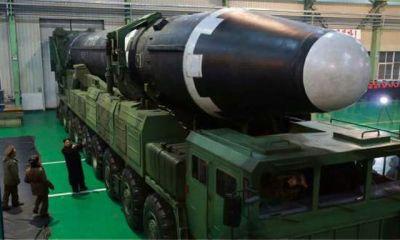 Tras el lanzamiento, Pyongyang mostró su nuevo misil al mundo