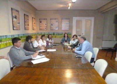 La CGT Regional Necochea se reunió con la Comisión de Trabajo del Concejo Deliberante