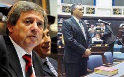 Renunció el diputado y expresidente de la Cámara baja, Horacio González, y asumió Urquiaga