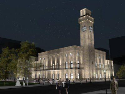 Reclamo de arquitectos por la restauración del histórico edificio de la Municipalidad