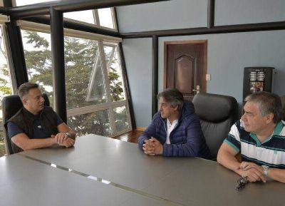 SOMU: Rubén Manno realizó actividades de campaña en su visita a Ushuaia