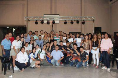 Infante valoró el aporte de los jóvenes a su gestión