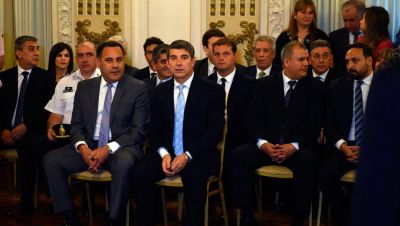 Juraron las nuevas autoridades del Gabinete: