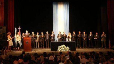 El gobernador Miguel Lifschitz anuncia los cambios en el gabinete