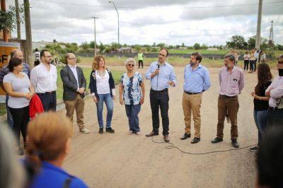 El municipio inauguró el desagüe Callejón Funes