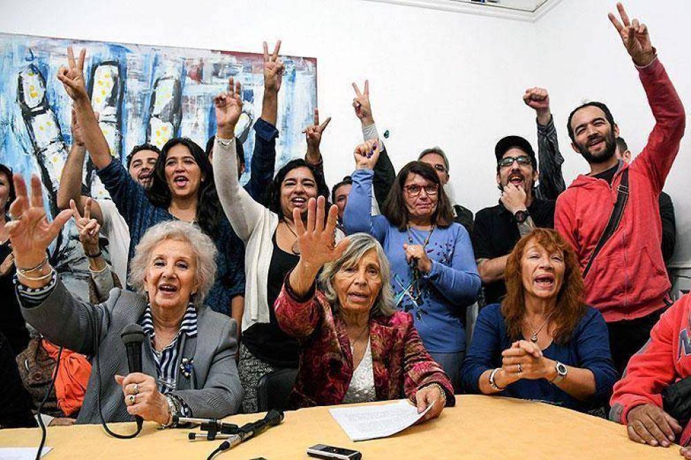 Abuelas celebró en Abasto la restitución de la  Nieta 126