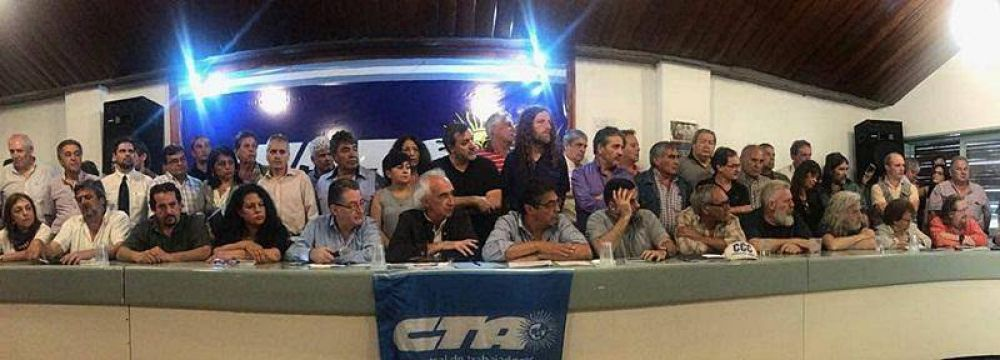 La CTA Autónoma y otras organizaciones avanzan hacia la jornada de protesta del miércoles
