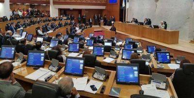 César Dip asume su banca y la Legislatura vuelve a estar completa luego de dos años