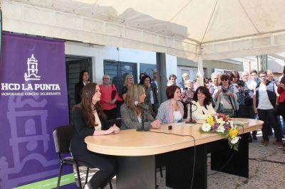 Juraron las nuevas concejales de La Punta
