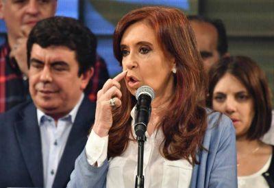 Cristina criticó el
