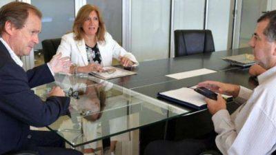 """Néstor """"Yuyo"""" García se reunió con Bordet"""