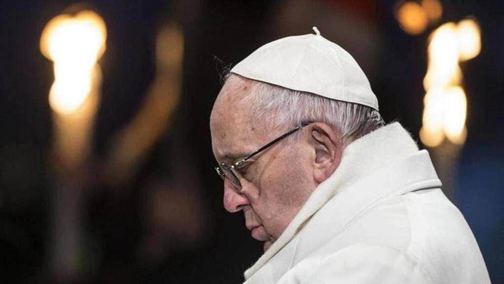 El Papa en la Curia de los jesuitas rezó por el hermano Mura