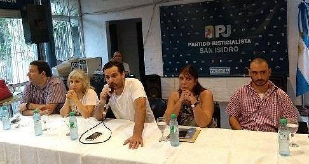 Teresa García y Federico Gelay presentaron su lista para presidir el PJ de San Isidro