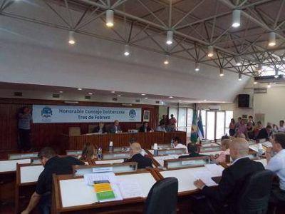 El Concejo Deliberante de Tres de Febrero le aprobó a Valenzuela el Presupuesto 2018