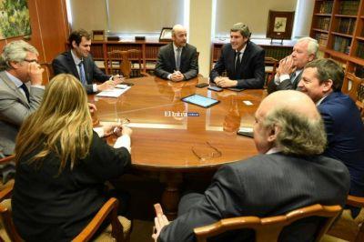 Yarade se reunió con autoridades de la Corte de Justicia