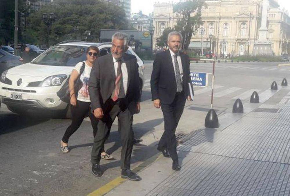Rodríguez Saá se reunió con el presidente de la Corte Suprema por la deuda de la Nación