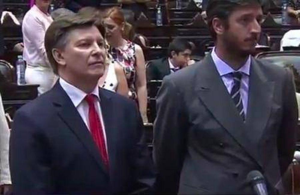 Juraron Alume, Rosso y Riccardo como diputados nacionales por San Luis