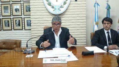 """Miguel Fernández: """"mi opinión es que Claudio debe seguir siendo presidente del Concejo Deliberante"""""""