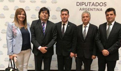 Casas y Bosetti participaron de la jura de los diputados nacionales electos en octubre