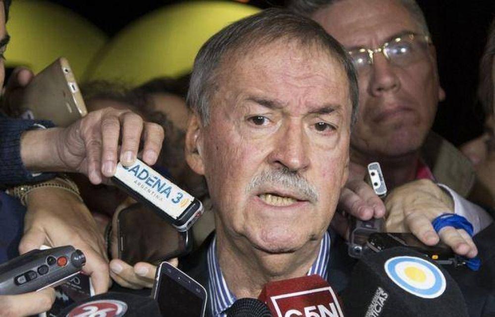 Schiaretti dijo que el objetivo es reorganizar el PJ sin CFK