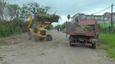 Permanente accionar del Municipio en la eliminación de microbasurales