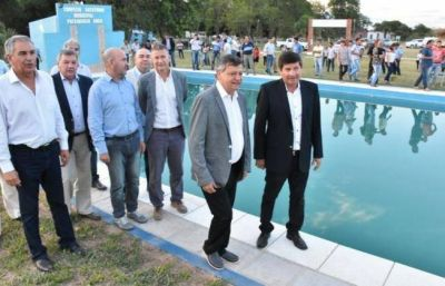 Presidencia Roca celebró sus 113 años con nuevas obras