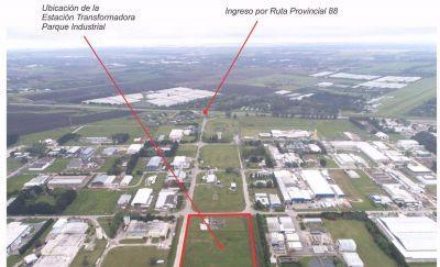 Edea anunció la construcción de una nueva estación transformadora en Parque Industrial
