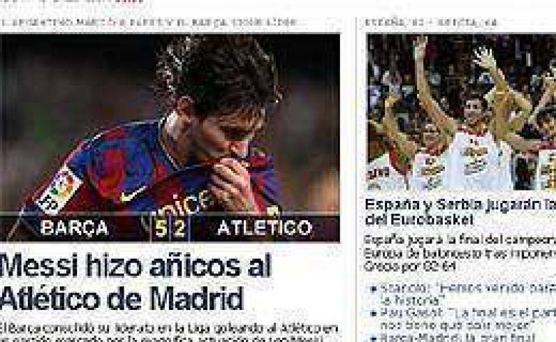 Messi dejó atrás las críticas y se llenó de elogios
