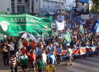 Miles de trabajadores marcharon en Río Cuarto