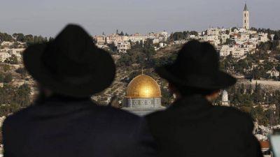 Jerusalén; el Papa pide evitar nuevas tensiones en un mundo convulso