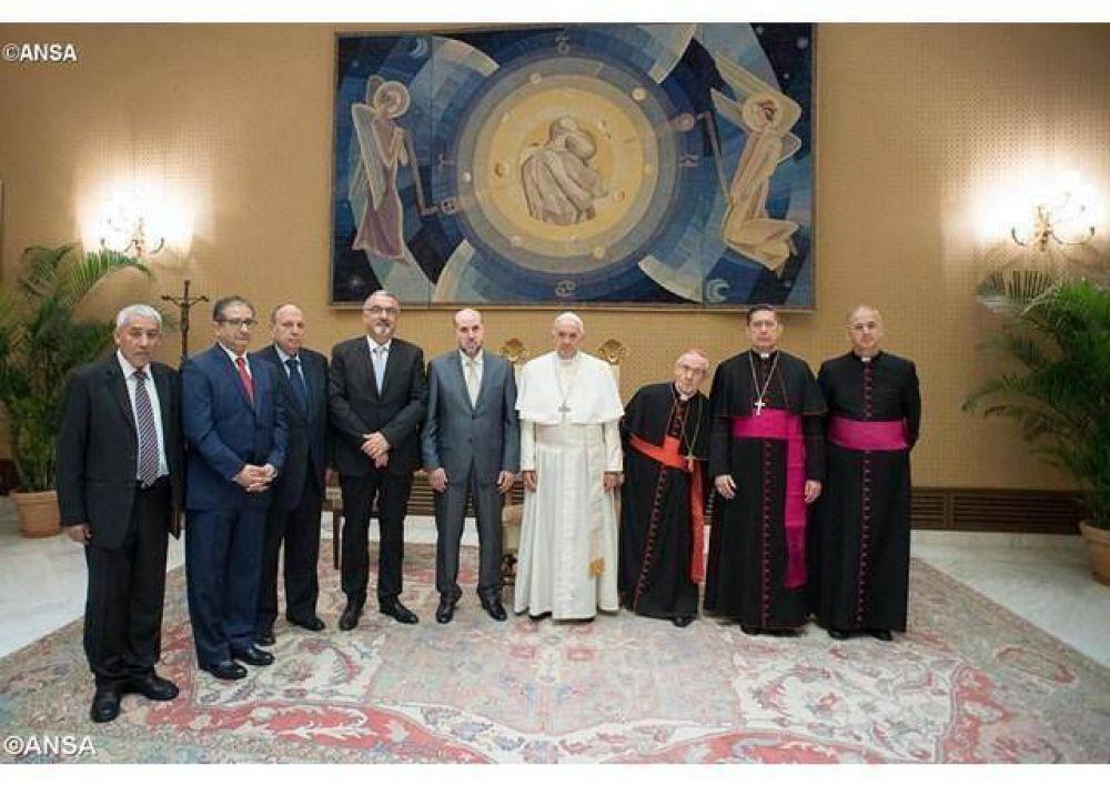 El Papa a la delegación palestina: diálogo y respeto recíproco