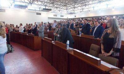 Juraron los nuevos concejales de Tres de Febrero: Iacovino mantuvo la presidencia