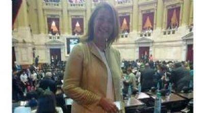 Pilar volvió a tener una representante en el Congreso