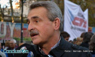 """Rossi: """"Pusieron a la democracia argentina en un estado de excepción"""""""