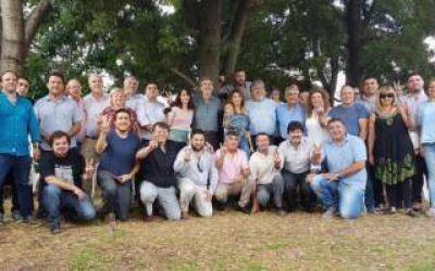 Randazzo compartió un asado con su equipo de la Tercera Sección Electoral