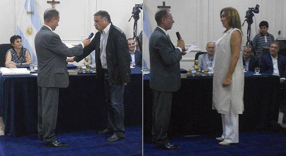 Juraron los concejales electos y Rivas Miera sigue como presidente