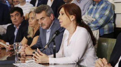 El PJ en el Senado se resiste a aprobar el desafuero de Cristina