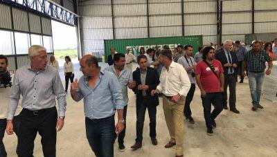 Fue inaugurada y ya empezó a funcionar la nueva planta de residuos de Ensenada