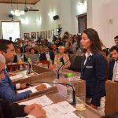 Mazzina, Ferreyra y Sosa asumieron como concejales