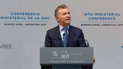 Junto a sus pares del Mercosur, Macri cuestionó el proteccionismo