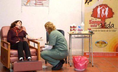 Este lunes: nueva colecta externa de donantes voluntarios de sangre