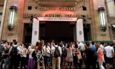 La UCR Capital vota en 5 comunas