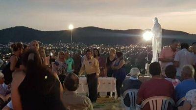 Avilés inauguró el circuito religioso de Carlos Paz