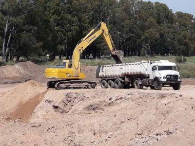 Avanzan en Santa Rosa las obras del plan de Mitigación de Inundaciones