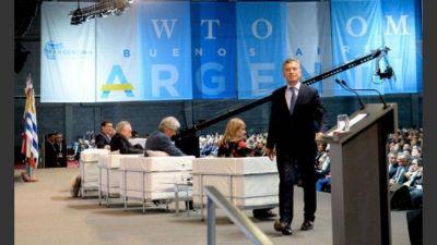 Macri se alinea con la OMC y reclama poner fin a las políticas proteccionistas
