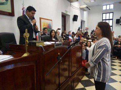 FERNANDO MEZA ES EL NUEVO PRESIDENTE DEL CONCEJO DELIBERANTE DE POSADAS