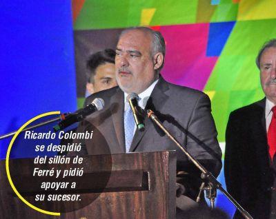 Colombi vaticinó tiempos mejores y resaltó la estabilidad institucional