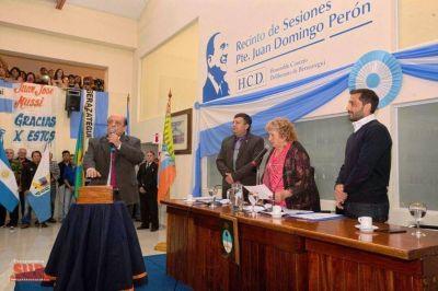 "Juan José Mussi: ""Nada mejor que estar al frente del HCD de mi querido Berazategui"""